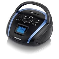 Hyundai TR 1088 BT3BBL čierno-modrá - Rádio