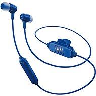 JBL E25BT modré - Slúchadlá s mikrofónom