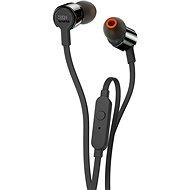 JBL T210 čierne - Slúchadlá s mikrofónom