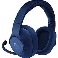 Logitech G433 Surround Sound Gaming Headset modrý - Slúchadlá s mikrofónom