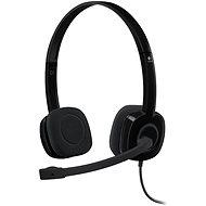 Logitech Stereo Headset H151 - Slúchadlá s mikrofónom