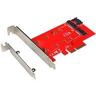 I-TEC PCI-E 2x M.2 Card (PCI-E / SATA) - Radič