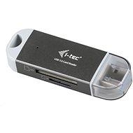 i-TEC USB 3.0 Dual Card reader - Čítačka kariet