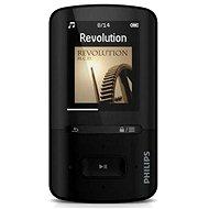 Philips ViBE SA4VBE08KF čierny - MP4 prehrávač