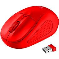 Primo Wireless Mouse matte red - Myš