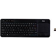 Trust Veza Wireless Touchpad Keyboard CZ +SK - Klávesnica