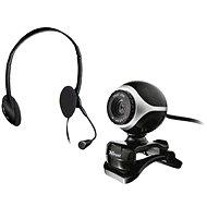 Trust Exis Webcam + náhlavná sada - Webkamera
