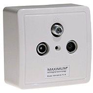 Maximum TV/R/SAT MX 600 Set - Zásuvka