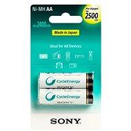 Sony NiMH 2500 mAh, AA, 2 ks - Batéria