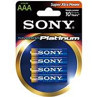 Sony STAMINA PLATINUM, LR03/AAA 1.5V, 4 ks