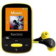 SanDisk Sansa Clip Sports 8GB žltý - MP3 prehrávač