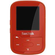 SanDisk Sansa Clip Sports Plus 16GB červený - MP3 prehrávač