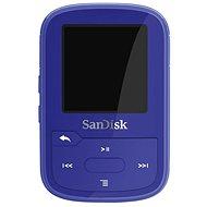 SanDisk Sansa Clip Sports Plus 16GB modrý - MP3 prehrávač