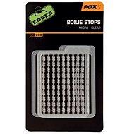FOX Edges Boilie Stops Micro Clear 200ks - Zarážky