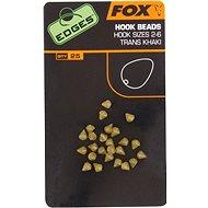 FOX Edges Hook Bead Velikost 2-6 Trans Khaki 25ks - Zarážky