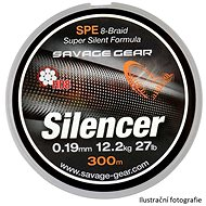 Sevage Gear - HD8 Silencer Braid 0,32mm 70lbs 32kg 120m Zelená - Šnúra