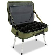 NGT Box Case Tackle Bag with Bivvy Table - Stolík