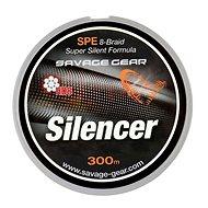 Savage Gear Šňůra HD8 Silencer Braid 0,19mm 27lbs 12,2kg 300m Zelená - Šnúra
