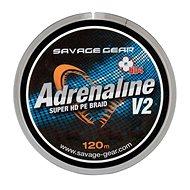Savage Gear Šňůra HD4 Adrenaline V2 0,22mm 33lbs 15kg 120m Šedá - Šnúra