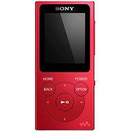 Sony WALKMAN NWE-393R červený - MP3 prehrávač