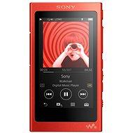 Sony Hi-Res WALKMAN NW-A35 červený - MP3 prehrávač