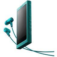 Sony Hi-Res WALKMAN NW-A35 modrý + slúchadlá MDR-EX750 - MP3 prehrávač