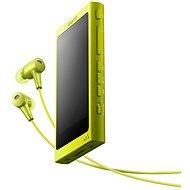 Sony Hi-Res WALKMAN NW-A35 žltý + slúchadlá - MP3 prehrávač