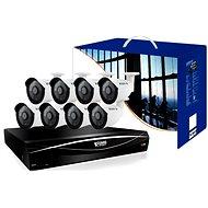 KGUARD 16-kanálový rekordér DVR + 8x farebná vonkajšia kamera - Kamerový systém