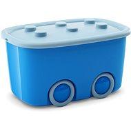 KIS Funny box L modrý 46 l - Úložný box