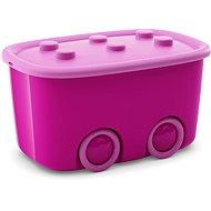 KIS Funny box L fialový 46 l - Úložný box