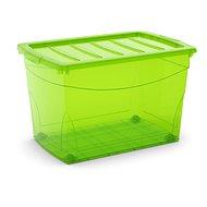 KIS všeobecného poľa XL zelený 60l na kolieskach - úložný box