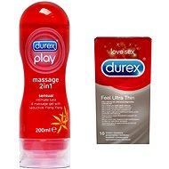 DUREX zamilovaný balíček - Súprava drogérie