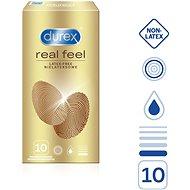 DUREX Real Feel 10 ks - Kondómy