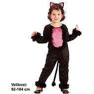 Šaty na karneval - Mačička veľ. XS - Detský kostým