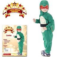 Šaty na karneval - Korytnačka veľ. XS - Detský kostým