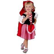 Šaty na karneval - Červená Karkulka veľ. XS - Detský kostým