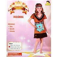 Šaty na karneval - Indianka vel. M - Detský kostým
