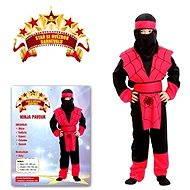 Šaty na karneval - Ninja pavúk vel. S - Detský kostým