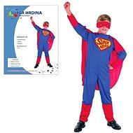 Šaty na karneval - Super hrdina vel. M - Detský kostým