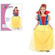 Šaty na karneval - Snehulienka veľ. M - Detský kostým