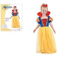 Šaty na karneval – Snehulienka veľ. XS - Detský kostým
