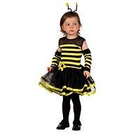 Šaty na karneval - Včielka veľ. XS - Detský kostým