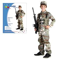 Šaty na karneval - Vojak vel. M - Detský kostým
