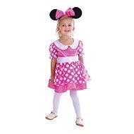 Šaty na karneval - Myšička veľ. XS - Detský kostým
