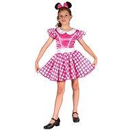 Šaty na karneval - Myška vel. M - Detský kostým