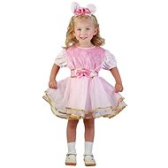 Šaty na karneval - Zajačik veľ. XS - Detský kostým