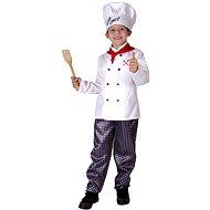 Šaty na karneval - Kuchár vel. M - Detský kostým