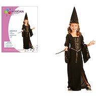 Šaty na karneval - Čarodejnica vel. M - Detský kostým