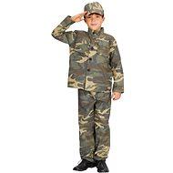 Šaty na karneval - Vojak vel. S - Detský kostým