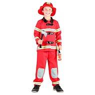 Šaty na karneval - Požiarnik vel. M - Detský kostým